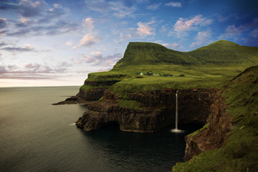 The Faroes, in Scotland