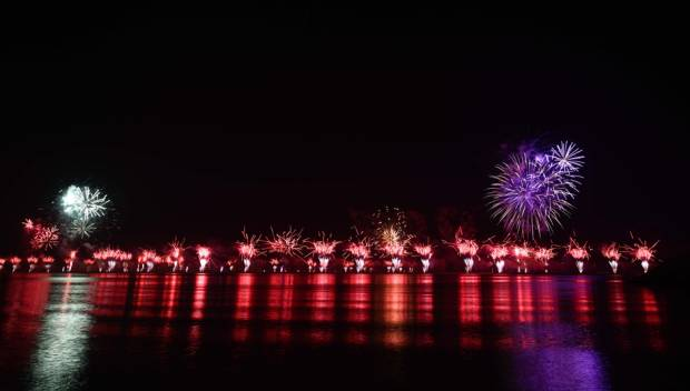 Watch: RAK fireworks set world record