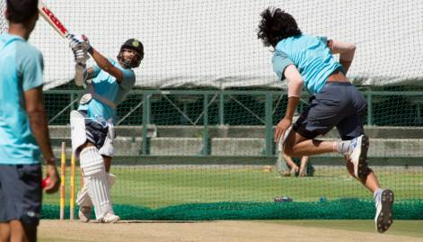 Team India train hard ahead of 1st Test