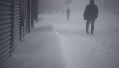 Pictures: Deadly bomb cyclone hits  US