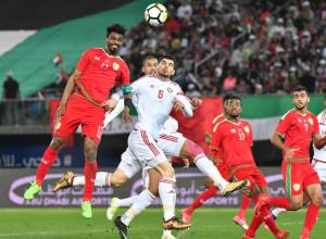 Gulf Cup final between UAE, Oman in pictures