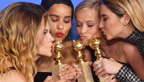 Pictures: Top winners at the Golden Globes
