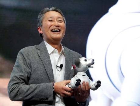 Kazuo Hirai, president and CEO of Sony Corporation