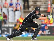 Guptill powers New Zealand to rain-affected win