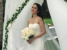 Look: Maxene, Rob wed in all-white ceremony
