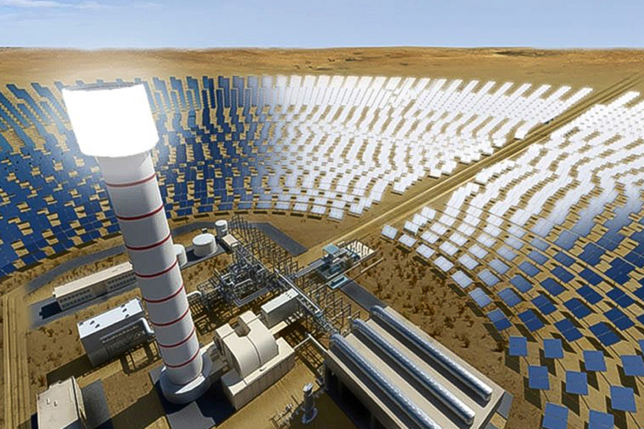 The world's largest concentrated solar power (CSP) project costing Dh14 billion will be implemented