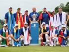 Dress rehearsal for Bjorn at EurAsia Cup