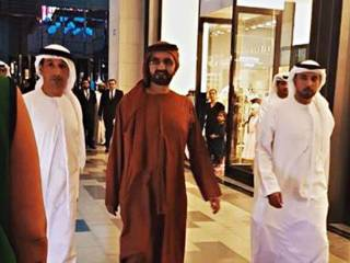 Look: Dubai ruler takes a walk at this mall