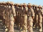 Yemeni soldiers take part in graduation ceremony in the port city of Mukalla, the capital of the southeastern province of Hadramout.