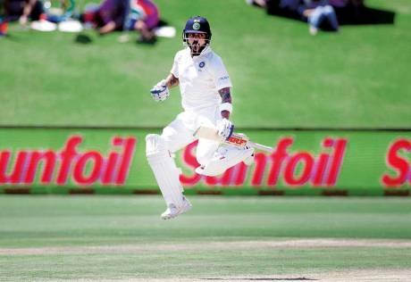 Kohli leads from the front on Day III