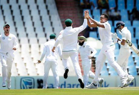 The moment hasn't really sunk in, Ngidi says