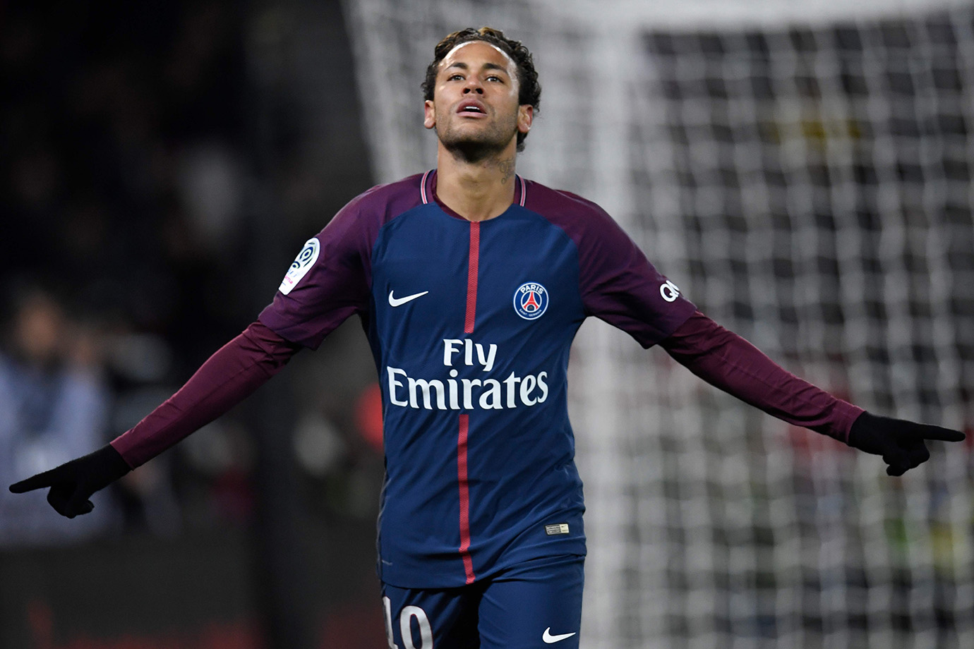 Neymar Scores Four, Cavani Equals Zlatan Record As PSG Destroy Dijon