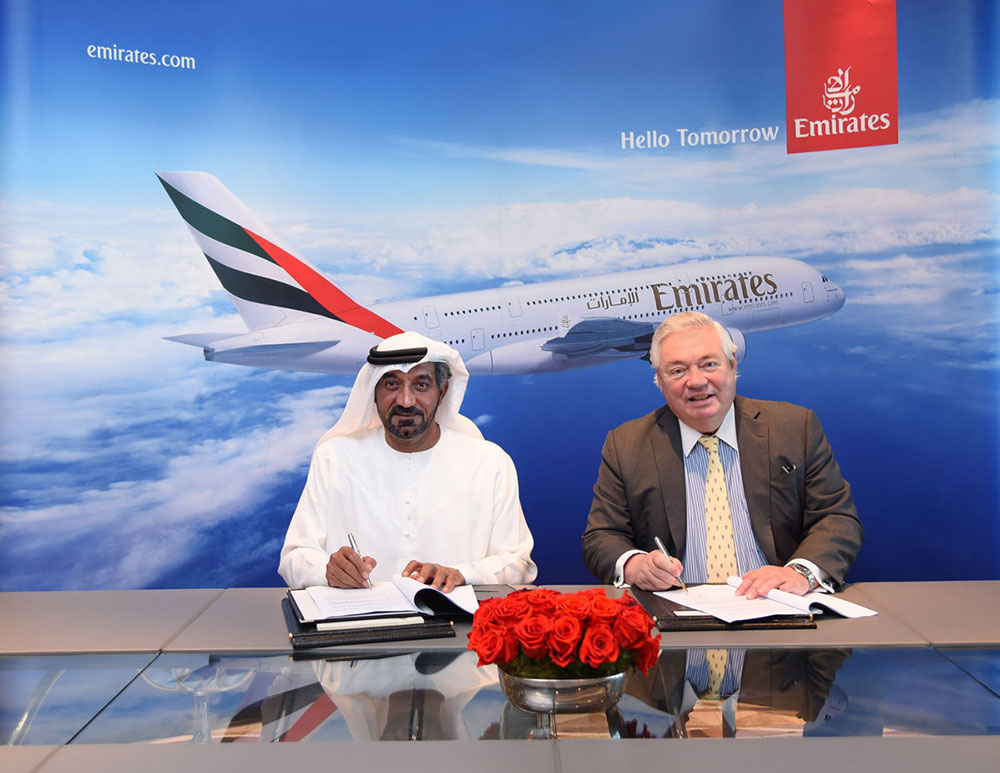 Emirates announces $16 bn deal for 36 A380s