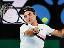 Federer into 19th third round at Melbourne