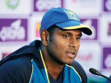 Sri Lanka sweat over Mathews fitness