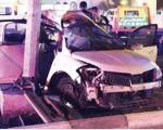 Three Emiratis killed, one hurt in car crash