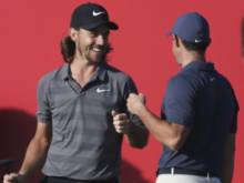 McIlroy makes Fleetwood's birthday special