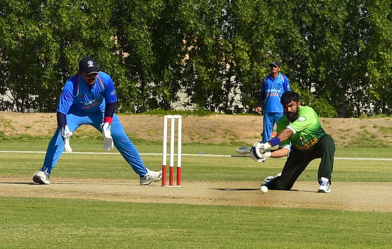 'It is great that these blind cricketers have the heart to play this game. Cricket is a game that ev