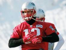 Patriots sweat to have Brady fit for key clash