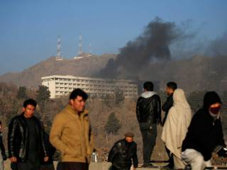 Update: 5 killed in Kabul hotel attack