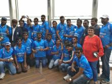 Indian blind cricket team on 'top of the world'