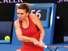Quarters eases pain for tired top seed Halep
