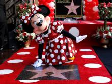 Minnie Mouse gets Hollywood Walk of Fame star