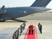 UAE martyr's body is brought home
