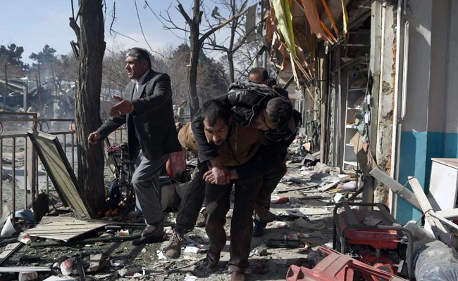 The Kabul bomb blast comes exactly week after Taliban terrorists stormed a luxury hotel in Kabul