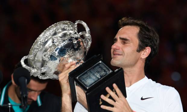Pictures: Federer retains Australian Open crown