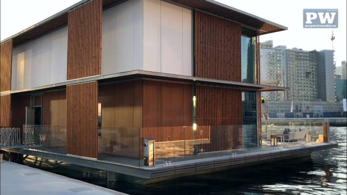 Property Weekly Marasi floating homes