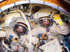Spacewalk ends with antenna in wrong spot