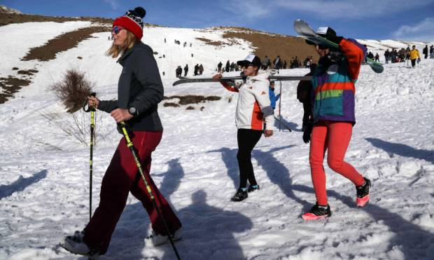 Relishing Alpine skiing in Iraq's Kurdistan
