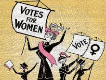 The branch of feminism that won women the vote