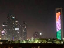 Watch: Iconic UAE buildings in Indian tricolour