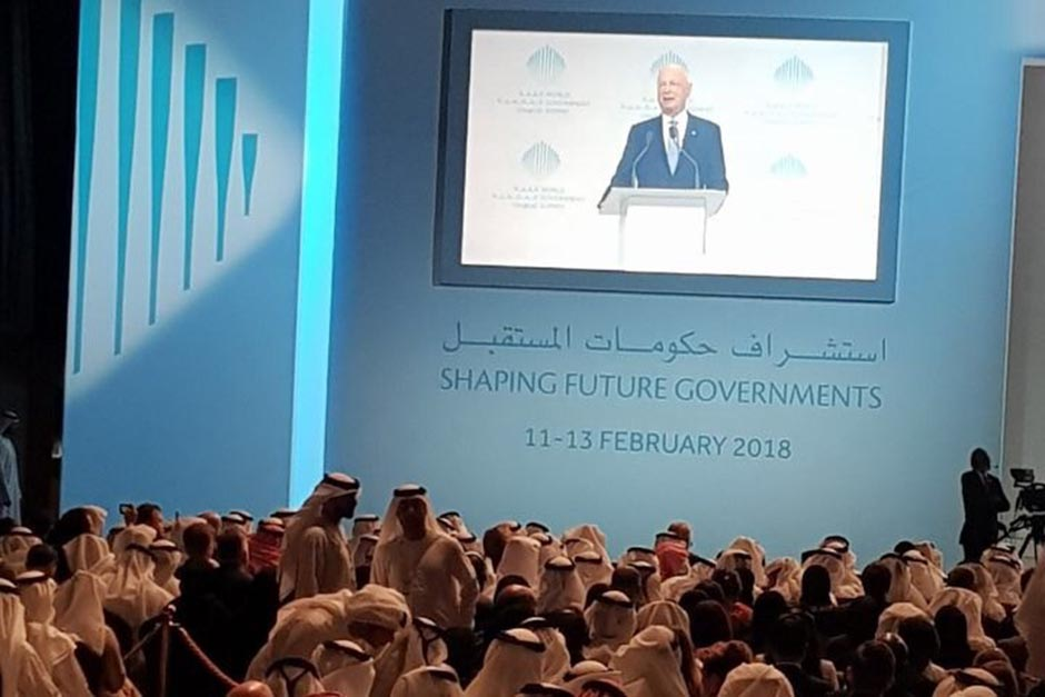 Klaus Schwab, Founder and Chairman of World Economic Forum