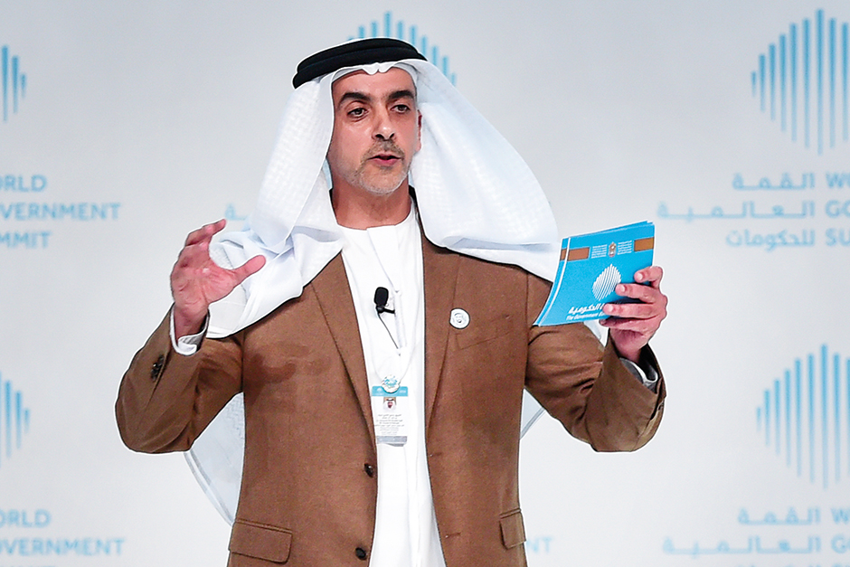 "Shaikh Saif launching ""Zayed the Inspirer"""