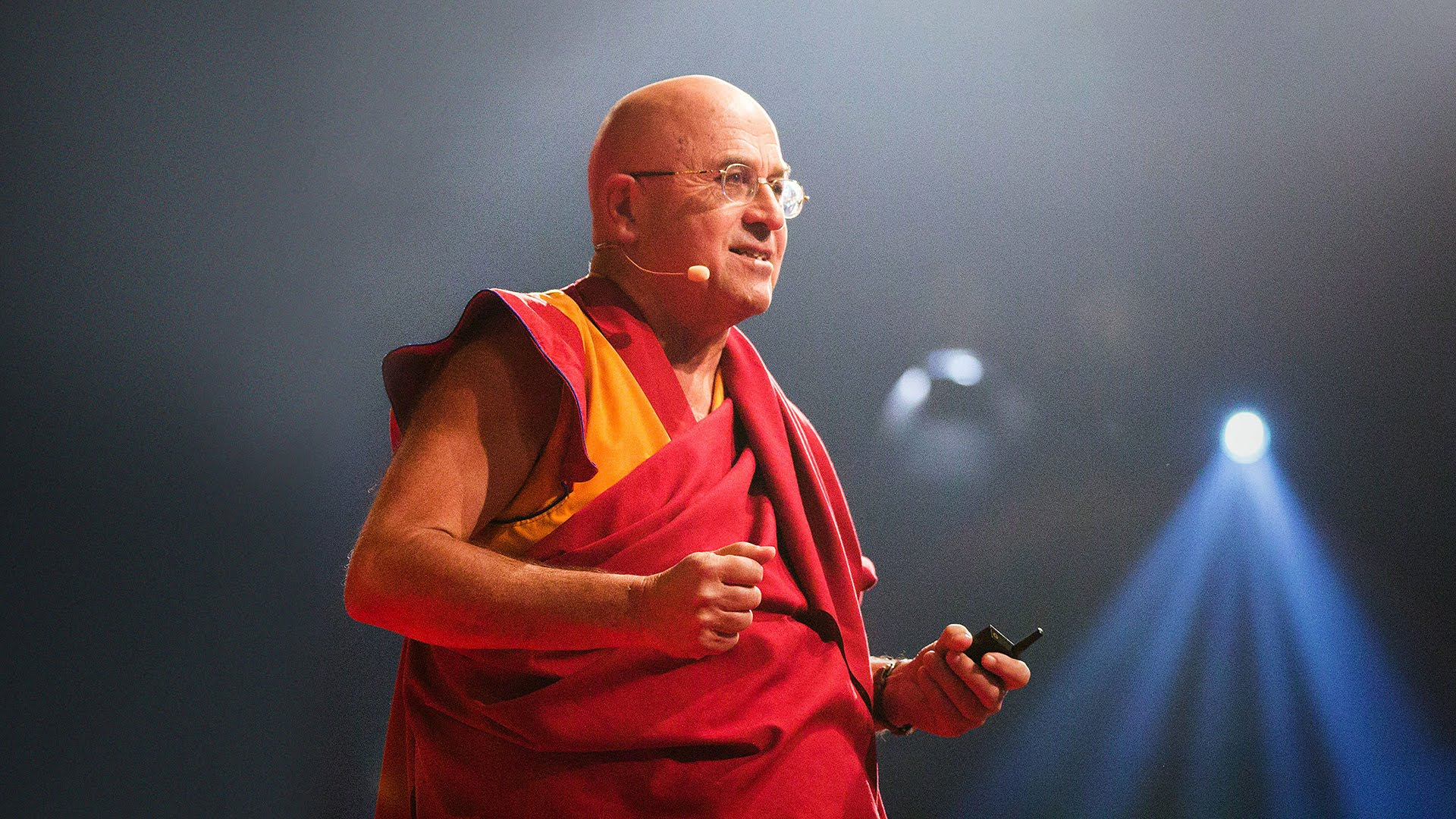 Matthieu Ricard, philosopher and best-selling author of books on happiness and compassion.