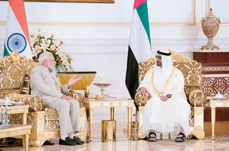 shaikh-mohammad-bin-zayed-with-modi-during-his-talks-in-abu-dhabi