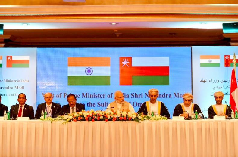 modi-at-the-india-oman-business-meet-in-progress