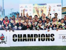 Kochi Royals win Veterans' League title