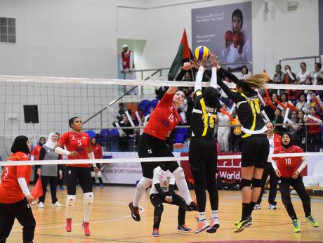 Al Wasl volleyball champions in Arab Women's Sports