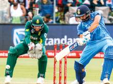 Rohit runs into form as India post 274