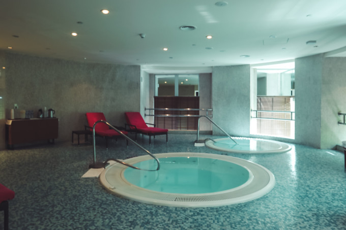 CHI, The Spa plunge pool
