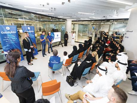 Young Emiratis given Masar Godolphin taster