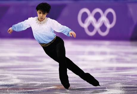 Hanyu on the brink of greatness on the rink