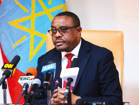 Ethiopia declares state of emergency after PM's resignation