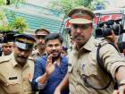 Dileep at a Magistrate court in Kerala 2017.