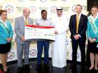 Mohamed Basheer Abdul Khadar wins $1m at the August 2016 draw of Dubai Duty Free Millennium Millionaire.
