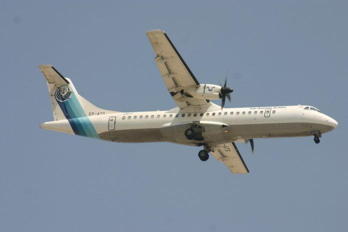 The ATR 72-500 came down in the Zagros mountains near the city of Semirom in Isfahan province while
